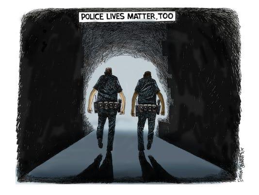 NO. 7:  Police Lives Matter
