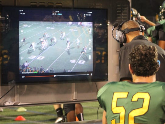 Players and coaches at Birmingham Groves can watch