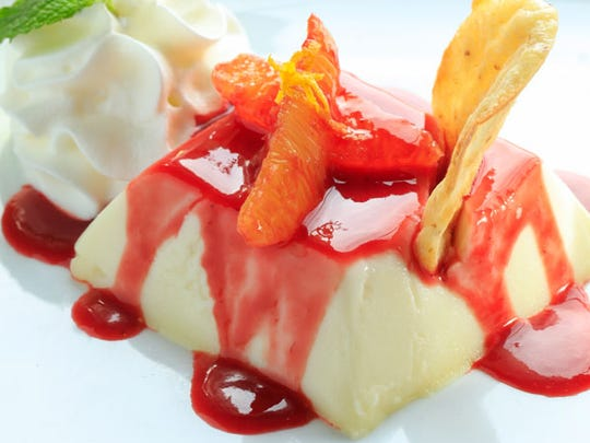 Saving the best for last: The panna cotta was one of the best our reviewers have tasted.