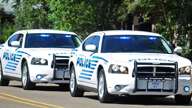 File photo of Hattiesburg police cars