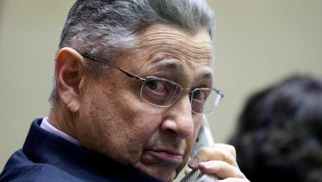 A file photo of Assembly Speaker Sheldon Silver, D-Manhattan in Albany.