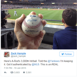 This ball is worth $150,000 - to a worthy charity.