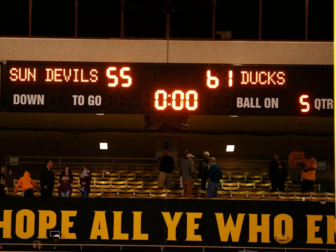 Oregon defeats Arizona State 61-55 in triple overtime