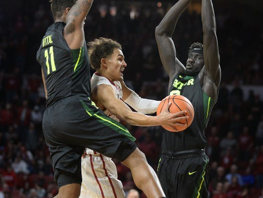 NCAA Basketball: Baylor at Oklahoma