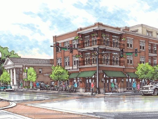 At completion, Harpeth Square will house a 119-room