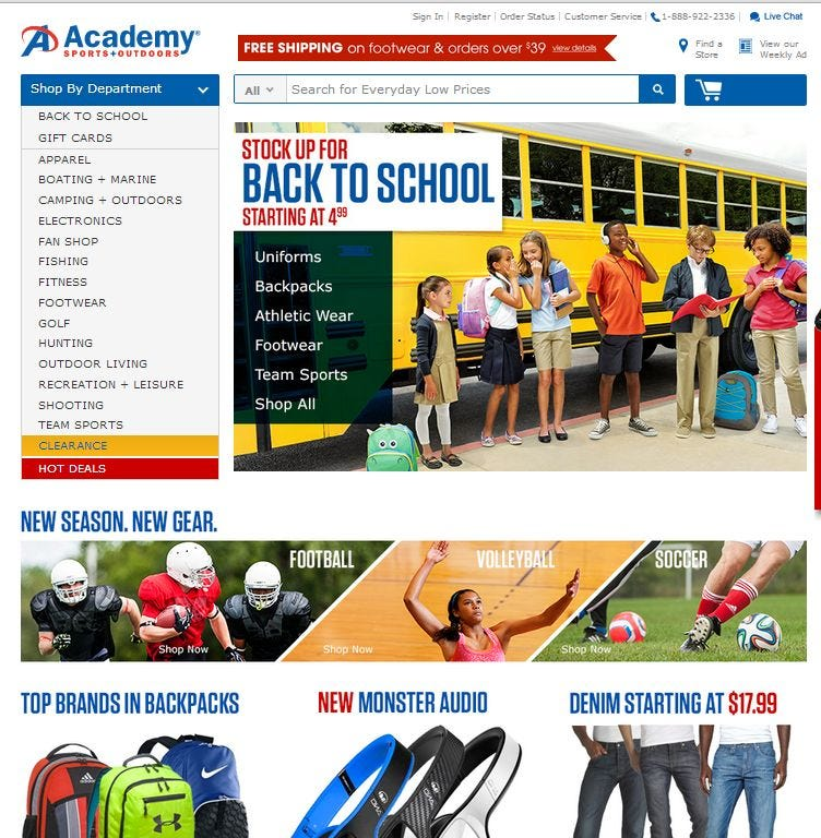 academy sports   outdoors  photo  the  pany  academy sports   outdoors  ing to hammock landing  rh   floridatoday