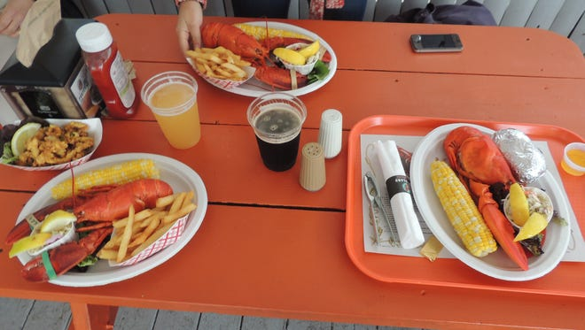 Fine dining, Maine summer style!