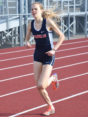 Natalie Douglas won two individual events Tuesday.