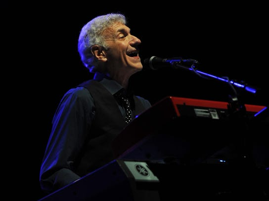 Dennis DeYoung of Styx performs Friday at Spiedie Fest.