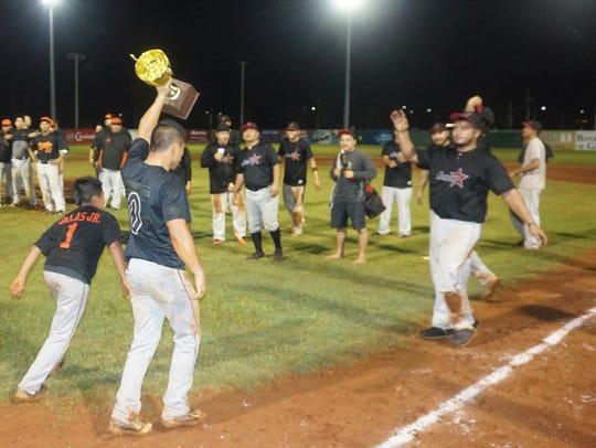 The AM Insurance/Crowns Guam/Autospot Orioles won the