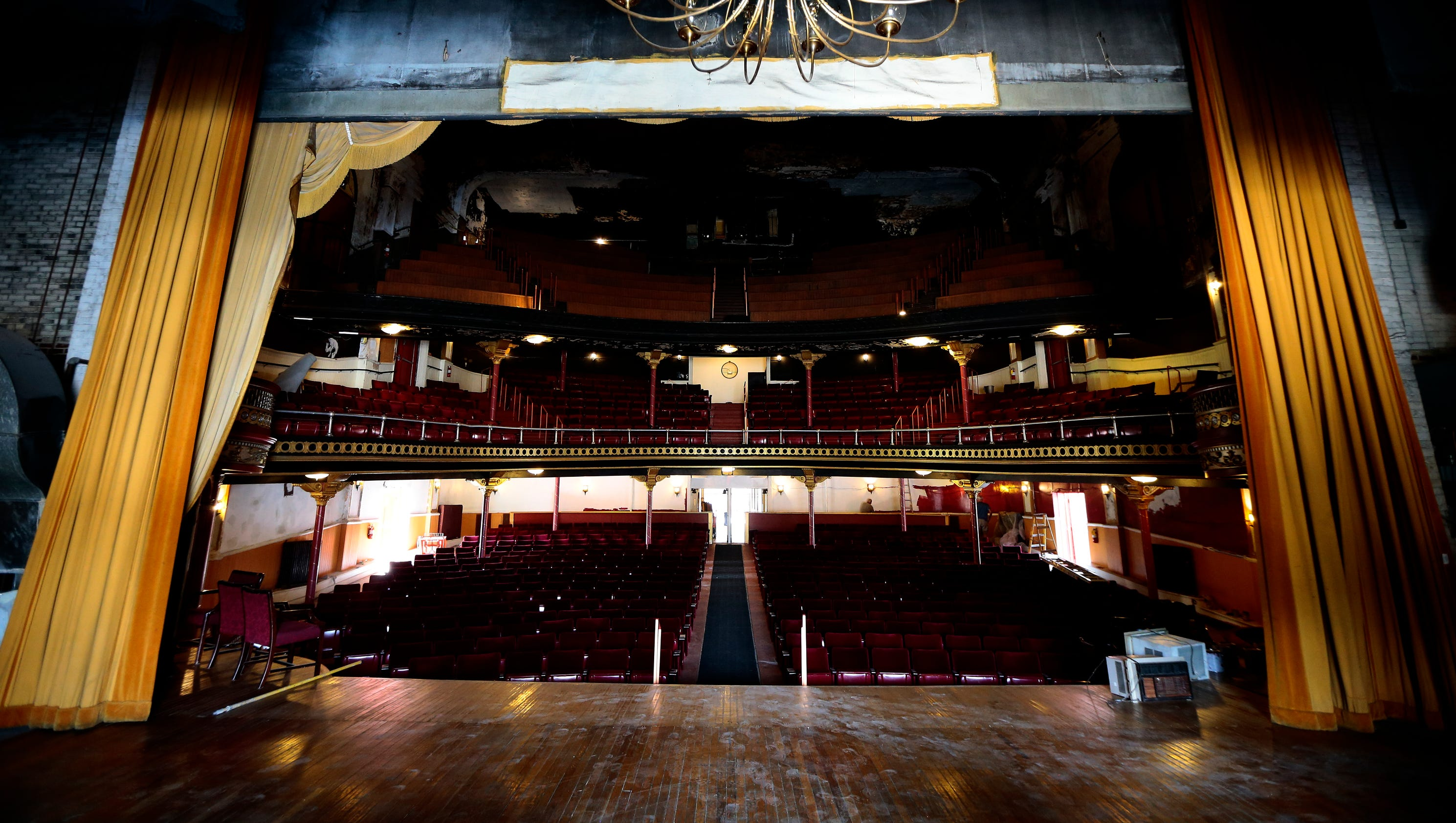 Adding music hall charm to restore middletown gem for Local house music