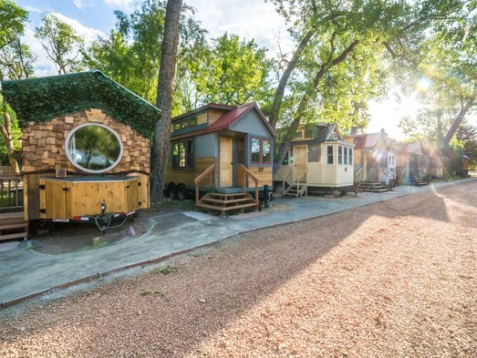 Tiny house test drive try one on vacation before taking for Choose your own home