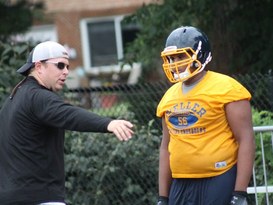 Rosfeld was previously a Moeller offensive line coach