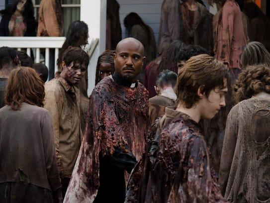Seth Gilliam as Father Gabriel on 'The Walking Dead.'