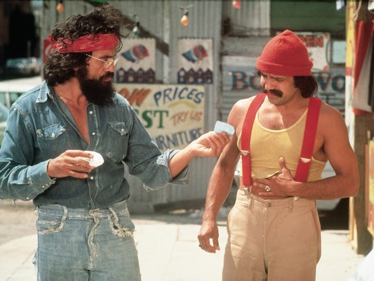 The comedy duo of Cheech and Chong made themselves famous with weed-focused humor.
