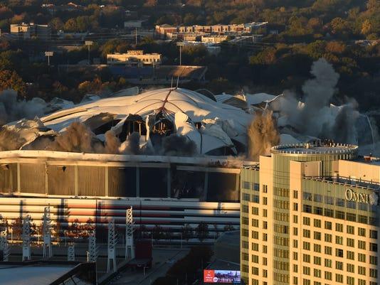 News: Georgia Dome Implosion
