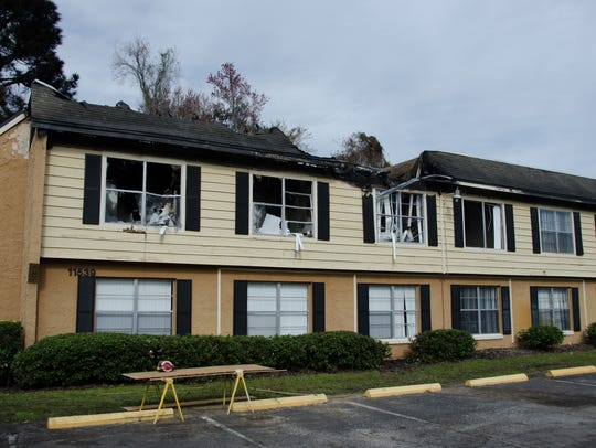 A fire at The Place at Alafaya Apartments destroyed
