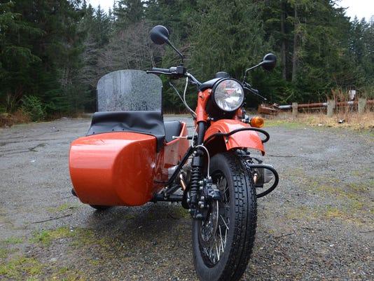 Russian Ural sidecar motorcycle is unrefined fun