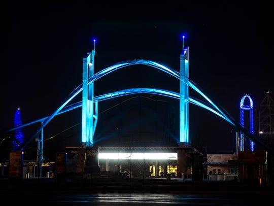 April 2, 2015: Cedar Point Amusement Park joins Autism