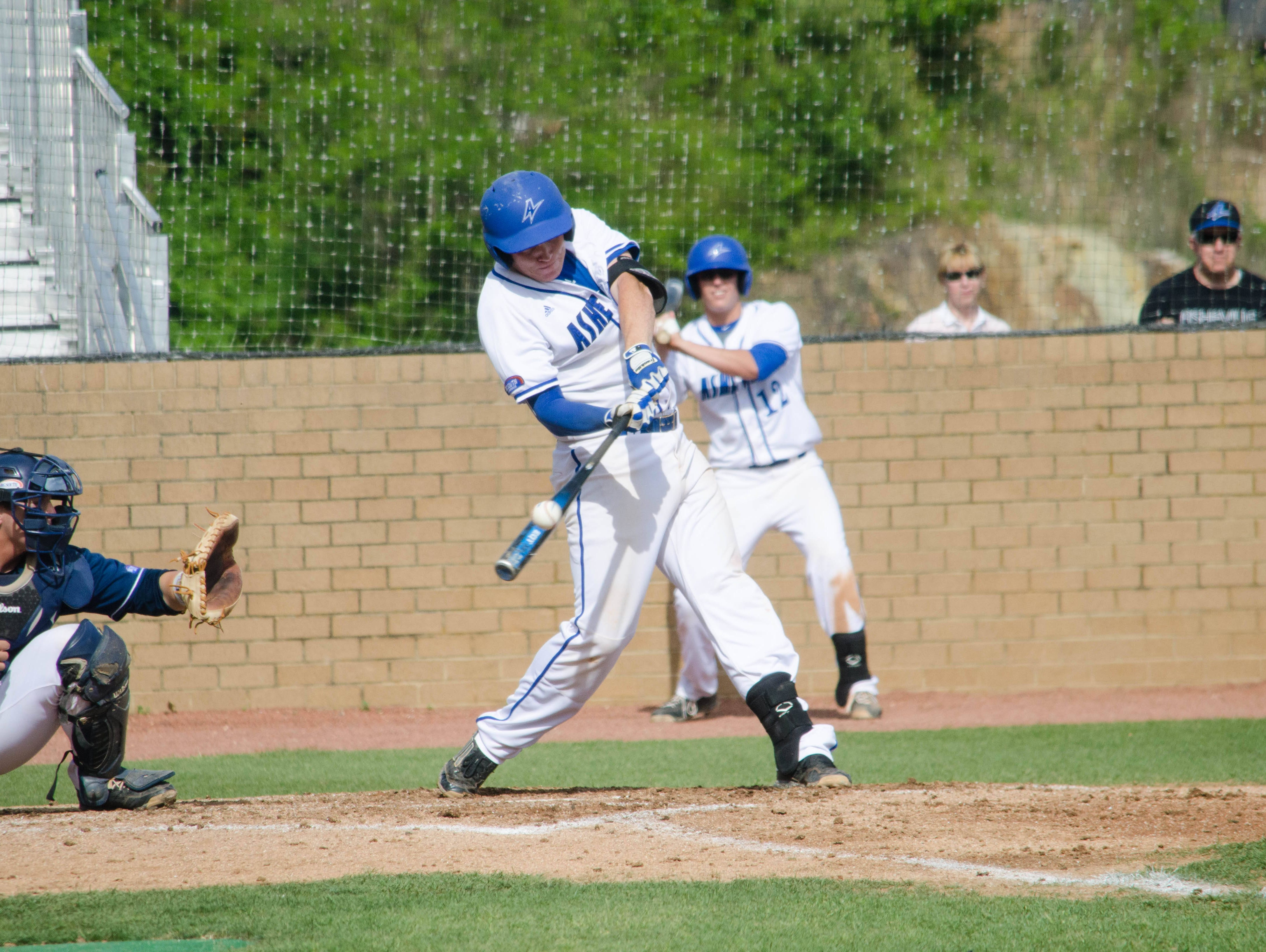 Erwin graduate Hunter Bryant is a senior for the UNC Asheville baseball team.