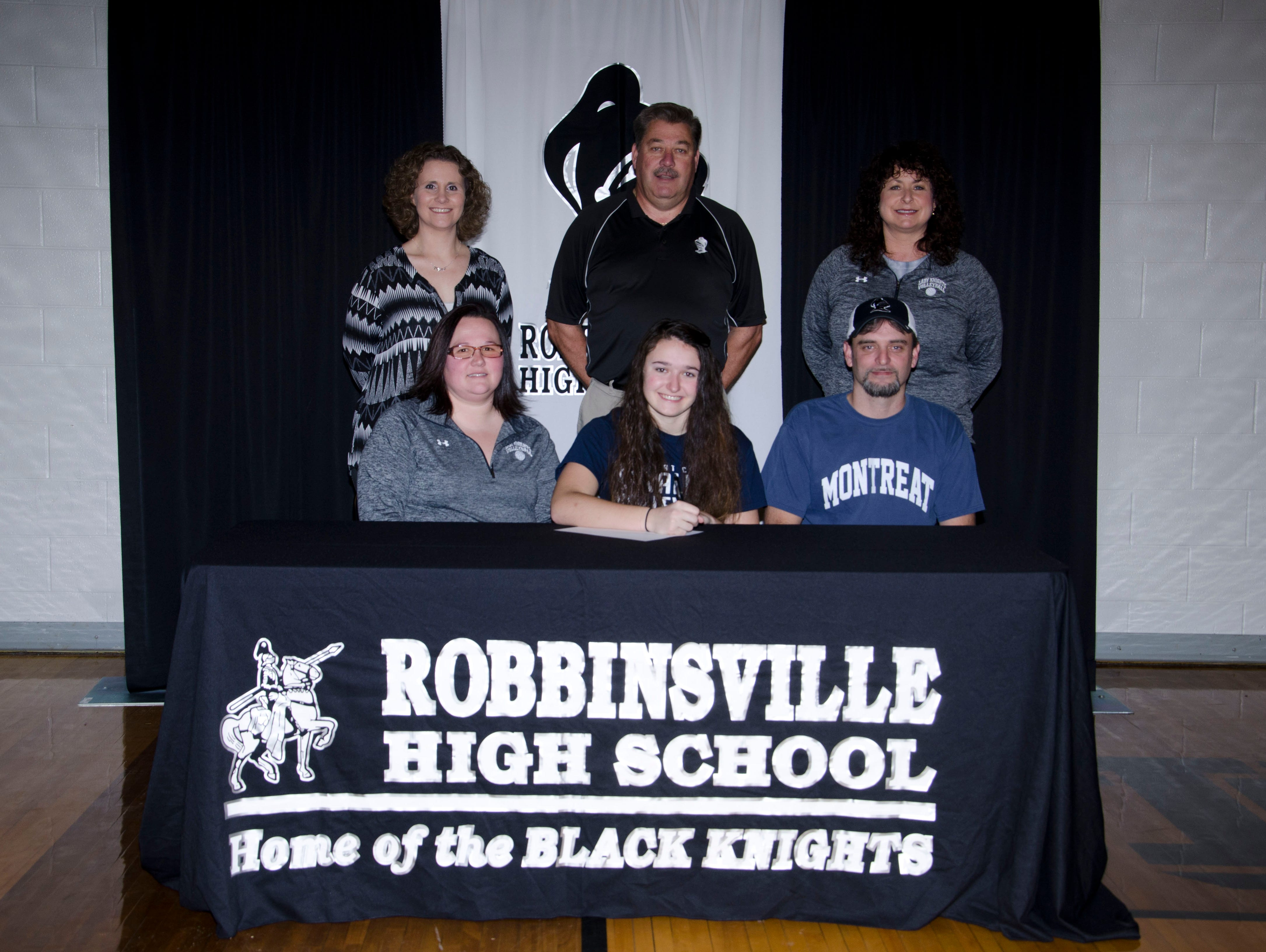 Recent Robbinsville graduate Daylee Brooms has signed to play college volleyball for Montreat.
