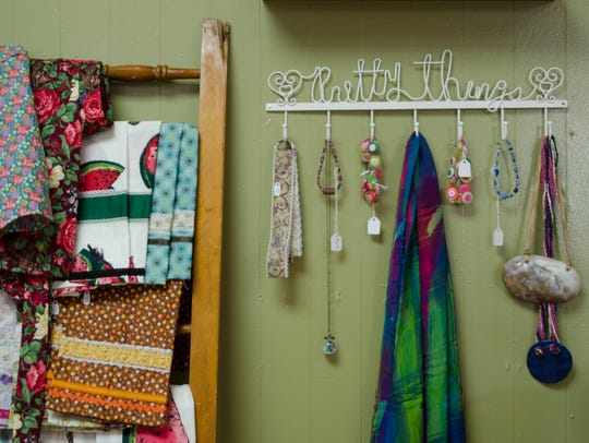 Family Tree Gallery on N. Wheeling Ave. features jewelery,