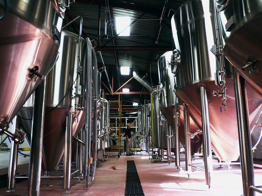NICOLE HAYDEN/TIMES HERALD Harsens Island Brewery, in Marysville,