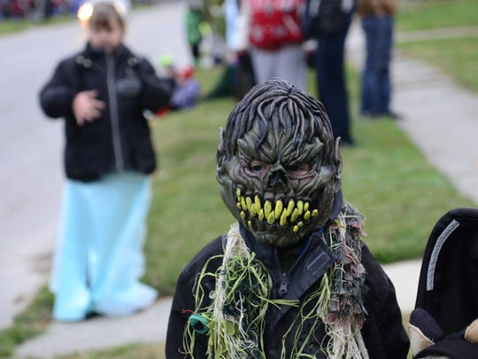 Costumed creatures will be on the loose through Tuesday.