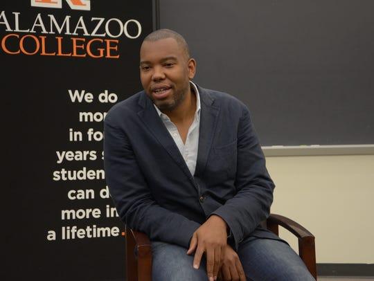 Renowned writer Ta-Nehisi Coates talks with Kalamazoo-area