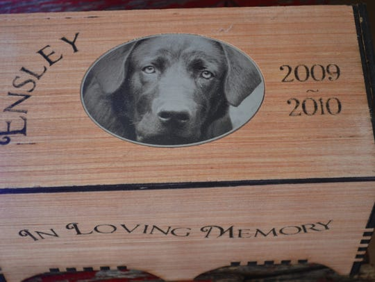 Sam Horner loves to engrave on wood but can do just