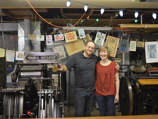 Tammy & Adam Winn of The Red Door Press