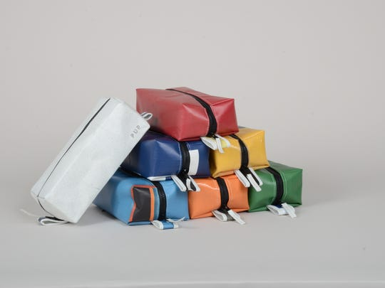 Deputy Super Bowl dopp kits ($48) by People for Urban Progress.