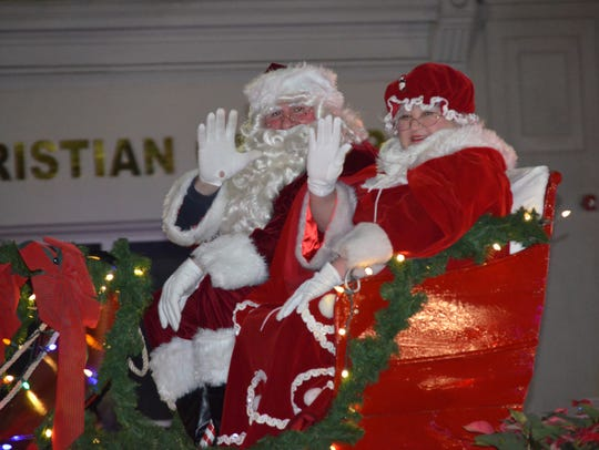 Santa and Mrs. Claus will appear in Vineland's annual