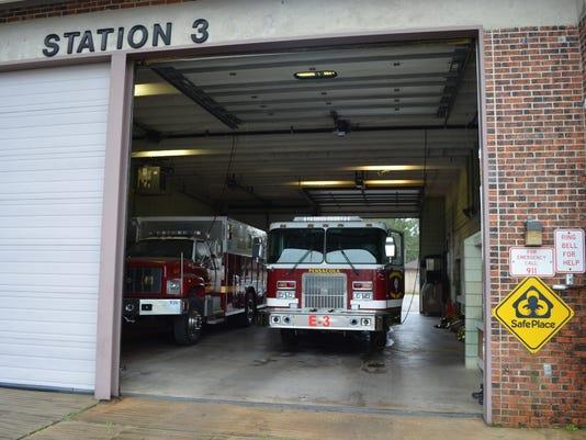 Station 3 trucks