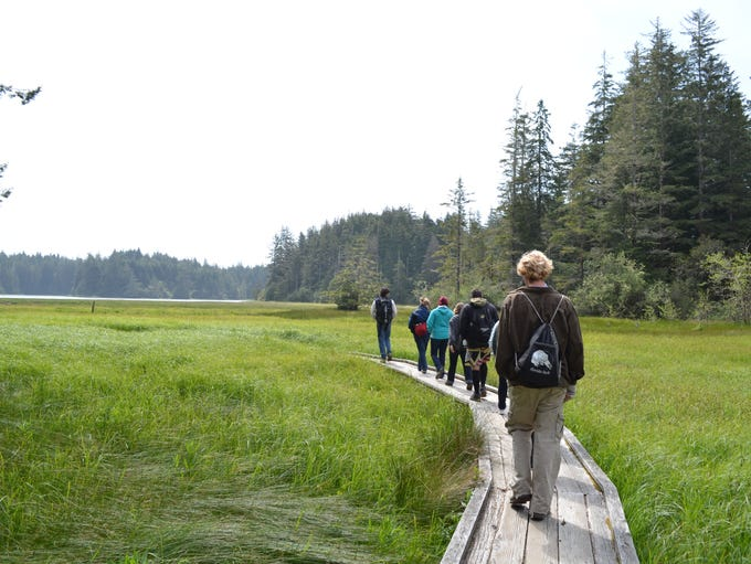 Hiking trails at South Slough National Estuarine Research