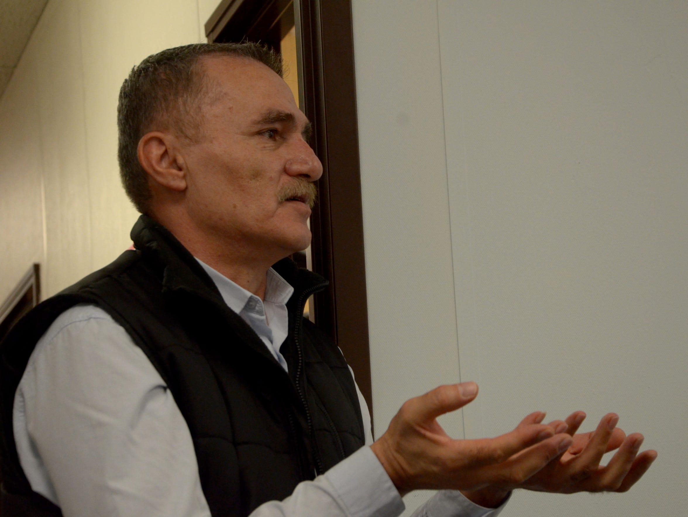 Aram Derbandi, program coordinator at Lutheran Social