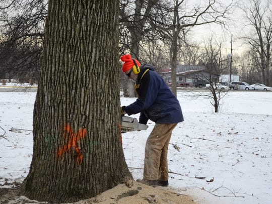 "Four Muncie area tree companies took part in the ""Kick"
