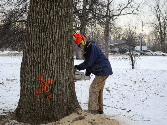 """Four Muncie area tree companies took part in the """"Kick"""