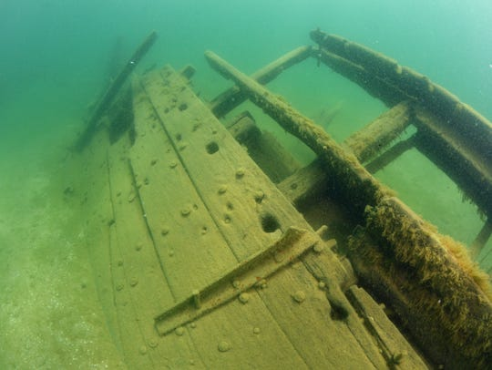 The La Salle shipwreck found in summer 2015 of the
