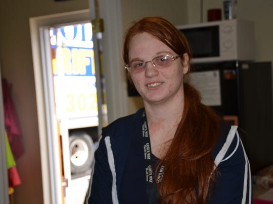 Lacey Firlein is the manager of God's Way Thrift Store