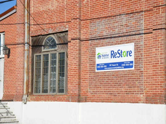 ReStore (Habitat for Humanity) in Georgetown, Delaware.