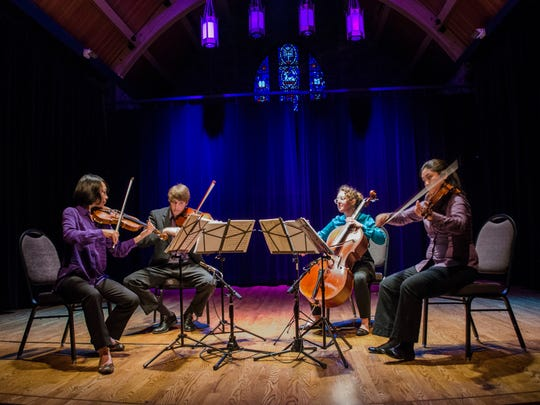 The Delgani String Quartet will make its Salem debut in a concert featuring the music of North and South America at 3 p.m. Sunday, May 22, at Prince of Peace Episcopal Church. The concert features Gershwin and more.