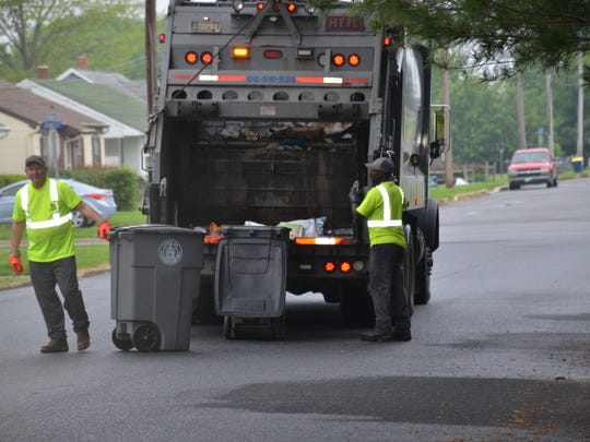 Besides illegal dumping, Delaware and Sussex County manages trash in a efficient manner.