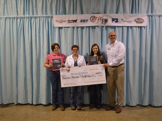 BEST Participants raised $19,052 for Make-A-Wish®,