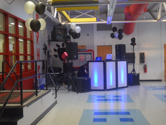 Thanks to the generosity of Chester King, the Bridgewater-Raritan High School PE Partner Prom was free, with a DJ and up-lighting.