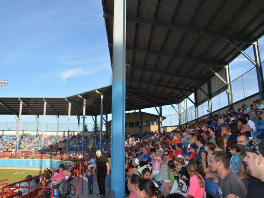 C.O. Brown Stadium in Battle Creek.