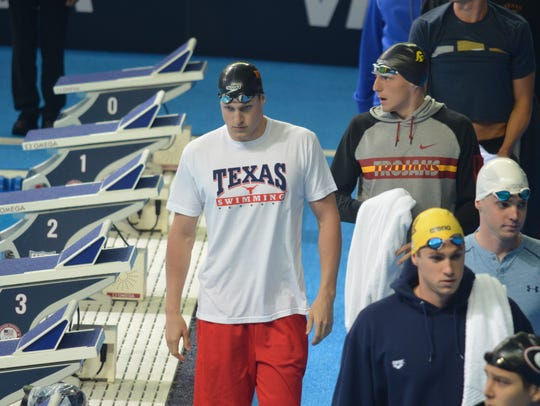Lakeview grad and former University of Texas swimmer