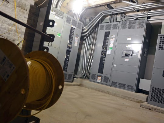 Electrical work installed by Stephenson Electric is