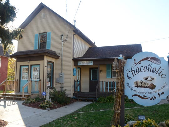 The Shameless Chocoholic in LeClaire, Iowa, has a guest