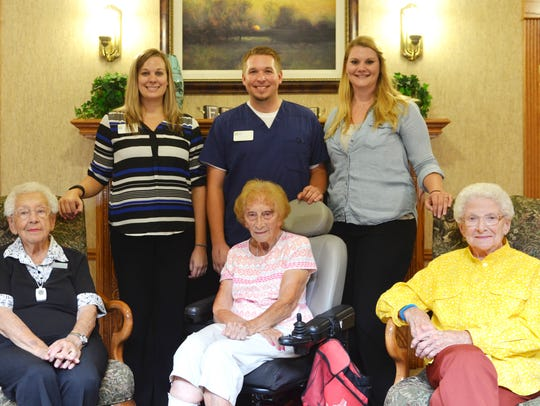 River Woods Place Care Service Manager Stacy Shepard,